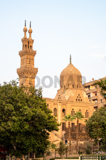 The Aqsunqur mosque in Cairo Egypt