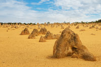 Pinnacles Desert in the Nambung National Park
