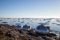 Hotel Arctic Igloos in Ilulissat, Greenland