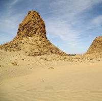 the   antique pyramids of the black pharaohs