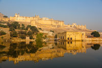 Amber Fort on the water