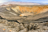 Ubehebe Crater, Death Valley National Park, California, USA.