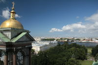 View from Isaac Cathedral over St. Petersburg