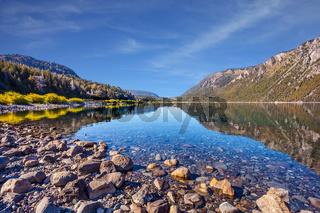 The shallow lake