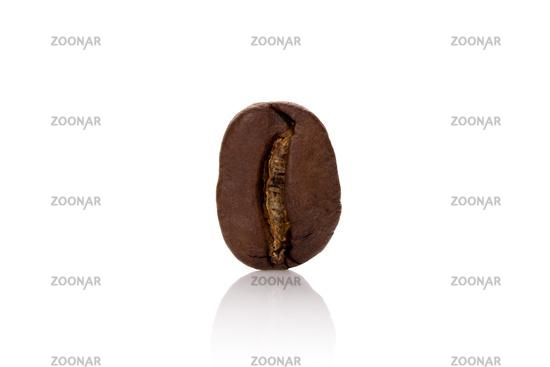 One coffee bean.