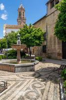 San Andrés Square, Cordoba, Andalusia, Spain, Europe