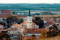 Mikulov city and castle, Czech Republic