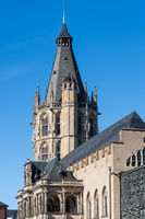 Tower of the historic Cologne City Hall
