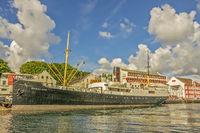 Historic Passenger Ship Rogaland, Stavanger, Norway