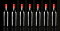 bottle, wine, black background, copy space, suite, alcohol, winery, export,