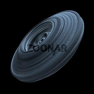 Sci-Fi Element For Spaceship, Futuristic Concept Design