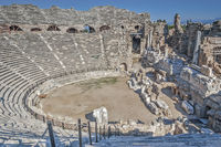 Amphitheatre, Side, Turkey