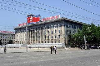 Pjoengjang, Nordkorea, Kim Il-Sung-Platz