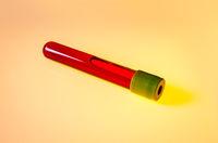 Blood test tube