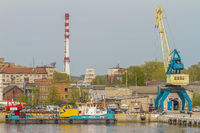 Part Of The Harbour Klaipeda, Lithuania