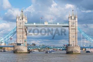 Famous landmark Tower Bridge in London, United Kingdom.