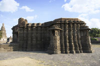 Right Side view of Daitya Sudan temple from Lonar, Buldhana District, Maharashtra, India
