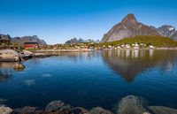 Lofoten is an archipelago in the county of Nordland, Norway.