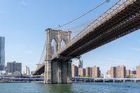 Brooklyn Bridge in Manahattan, New York