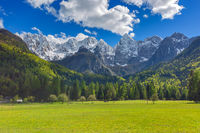 Mountains in Triglav national park