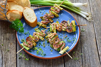 Hot Spanish pincho appetizers