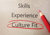 Culture Fit red circle