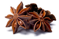 Star anise (dried Ilicium fruit), paths
