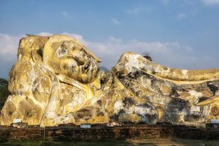 Phra Noon reclining Buddha