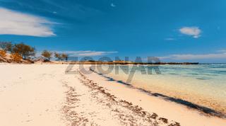 sand beach in Madagascar, Antsiranana, Diego Suarez