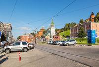 The urban landscape of Nizhni Novgorod