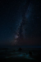 The Milky Way as Seen from Northern California, USA