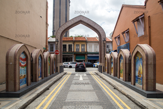 Arab Street District in Singapore