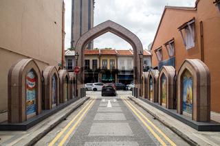 Arab Street District in Singapore
