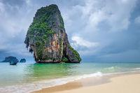 Phra Nang Beach in Krabi, Thailand