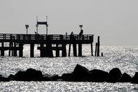 Pier 006. Fischland Darss Zingst. Germany