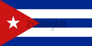 high res Cuban Flag of Cuba