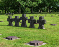 German war graves at La Cambe, France