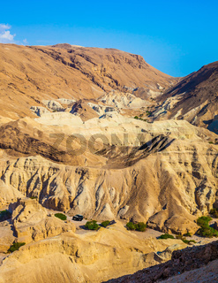 Dry mountains in the vicinity of Dead Sea