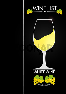 Logo design for wine list of a restaurant or bar