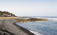 Shore near Playa de las Americas in Tenerife