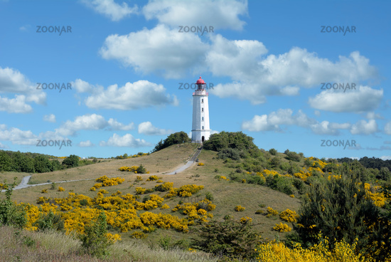 Lighthouse on Hiddensee,baltic Sea,Mecklenburg western Pomerania,Germany