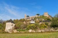 Village Turenne in French Correze