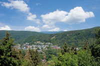 Village of Heimbach (Eifel) in Northrhine westphalia,Germany