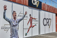 Cristiano Ronaldo Pestana CR hotel and museum on Funchal waterfront of the Portuguese island of Made