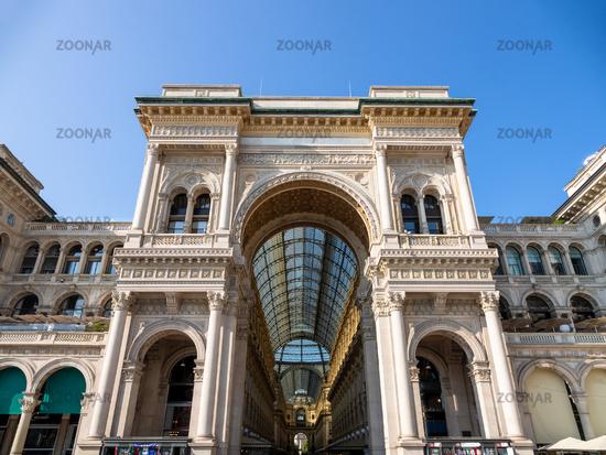 Gallery Vittorio Emanuele II in Milan Italy