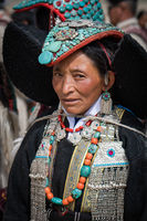 Elderly Indian woman in Ladakh