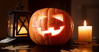 Halloween pumpkins or Jack o'Lantern