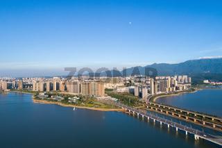 beautiful jiujiang cityscape