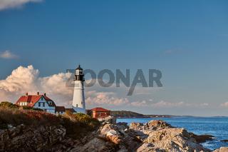 Portland Head Lighthouse, Maine, USA.