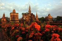 ASIA THAILAND SUKHOTHAI TEMPLE STUPA